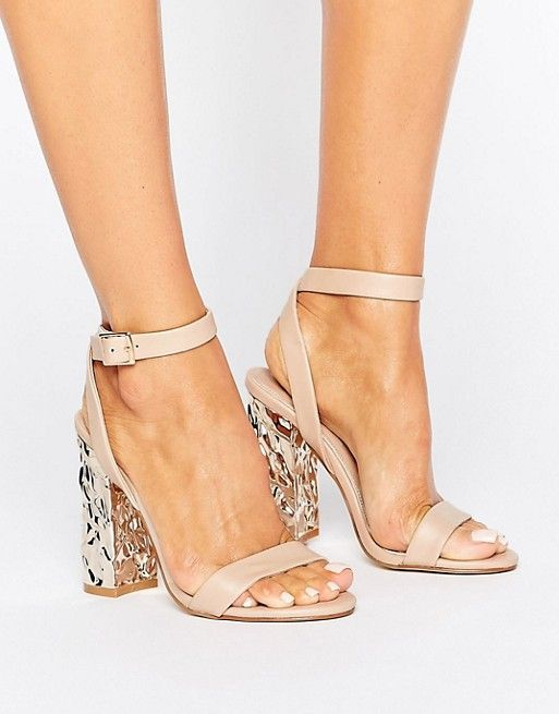 bcc9430d526 HAZARD Heeled Sandals by Asos. Sandals by ASOS Collection