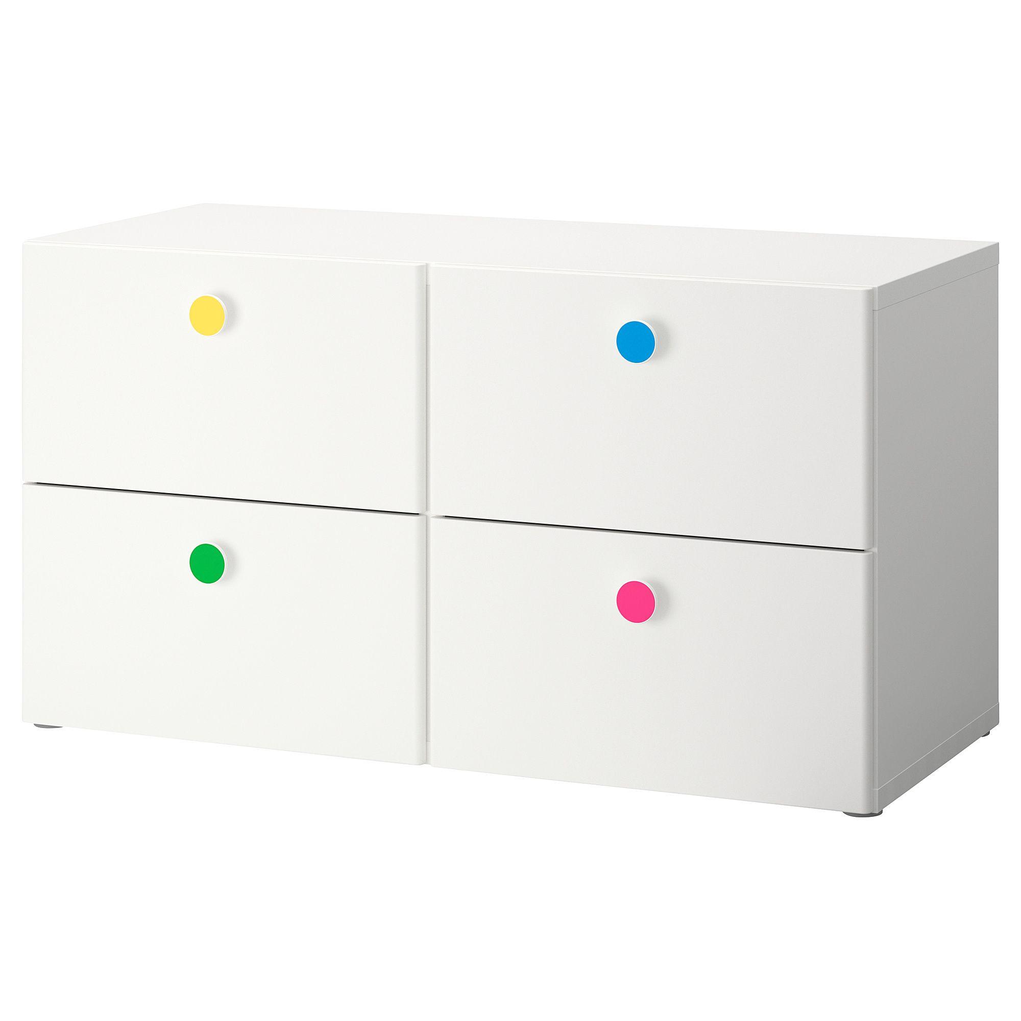 IKEA - STUVA / FÖLJA 4-drawer dresser white   Talia   Ikea 4