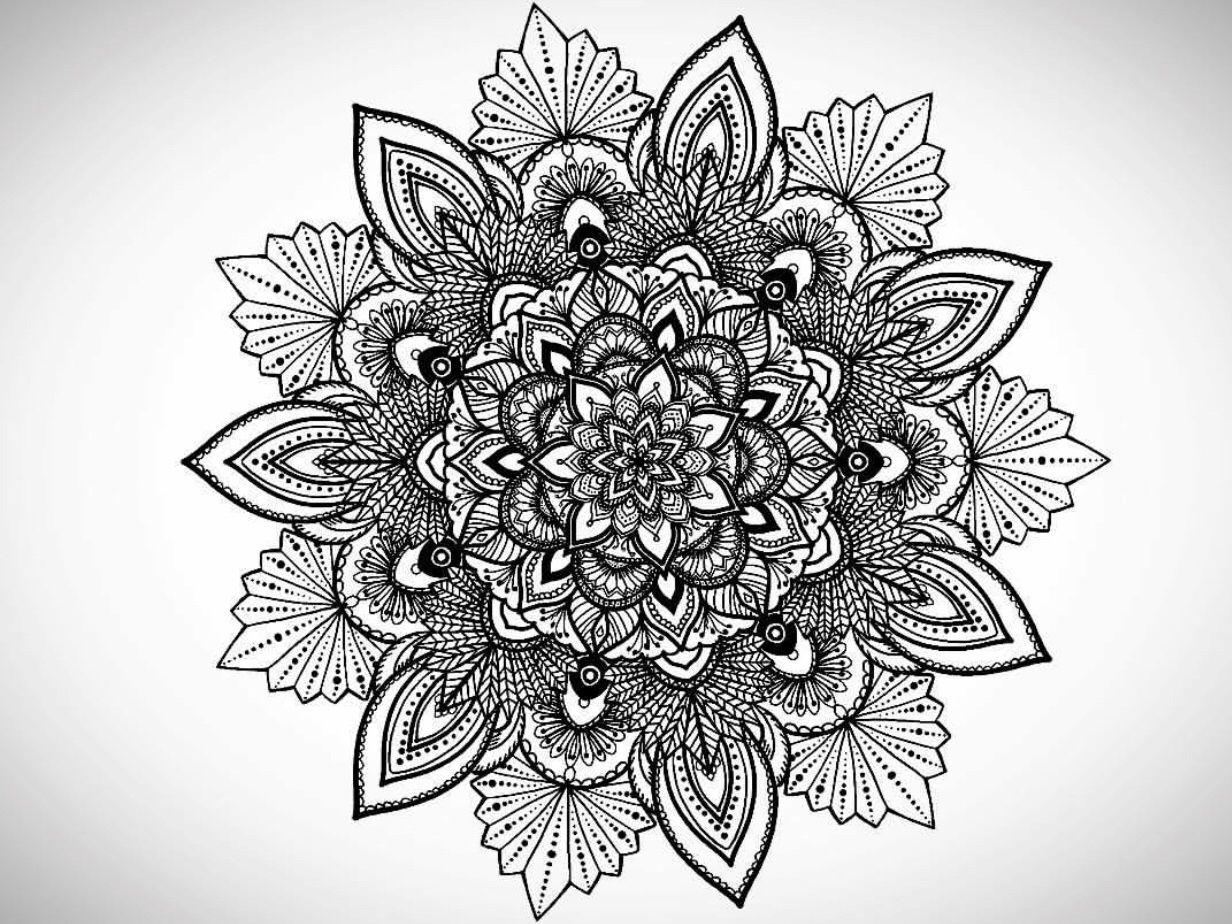 Flower Mandala Art Tattoo Tattoos Flower Mandala