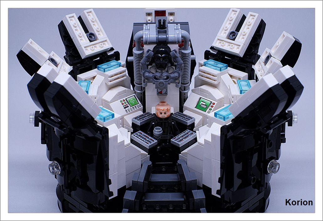 Darth Vader's Meditation Chamber | My LEGO MOC | Pinterest ...