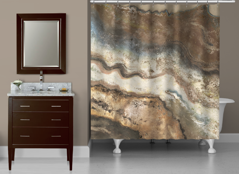 Lava Flow Shower Curtain In 2020 Abstract Shower Curtain Laural