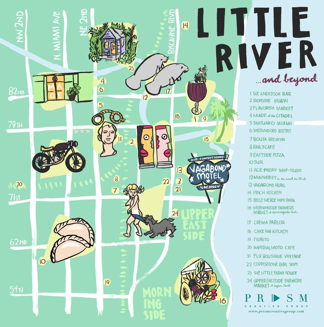 Little River Miami Art Food Nature And More Mimo Upper Eastside El Portal Miami Ironside Home Couture Little River River Miami