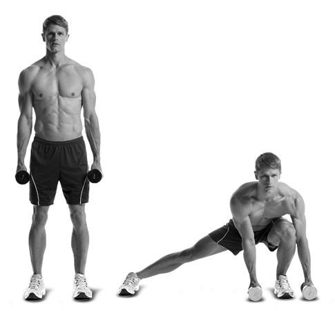 the spartacus workout  men's health  spartacus workout