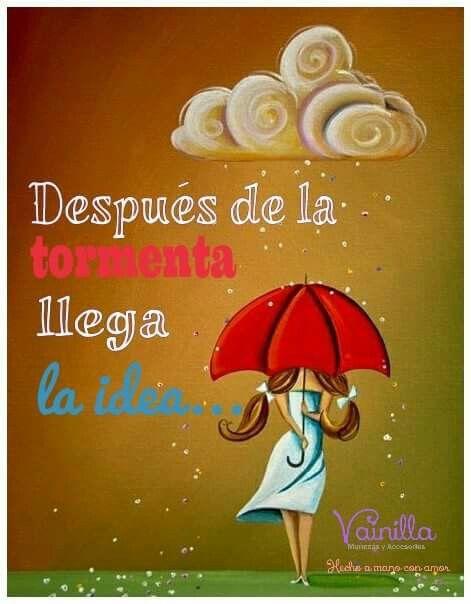 Que nada empañe tus sueños!!!