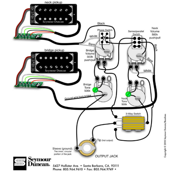 westone guitar wiring diagram