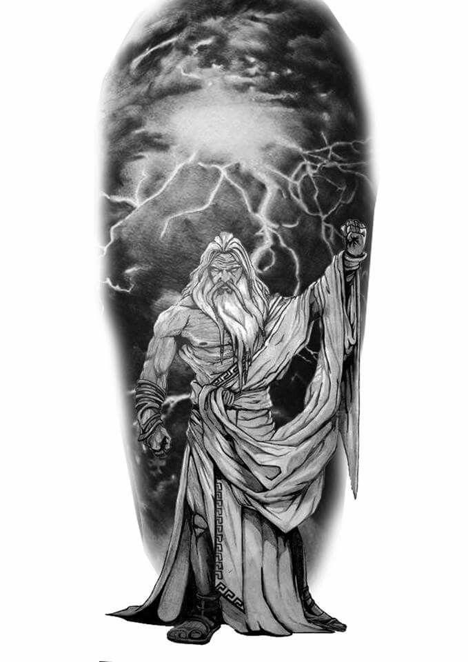 zeus tattoo tattoos pinterest tatouage tatouage zeus et tatouage dieu grec. Black Bedroom Furniture Sets. Home Design Ideas