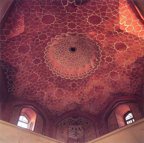 Wall Painting Torbat Heydarieh, in NE Iran