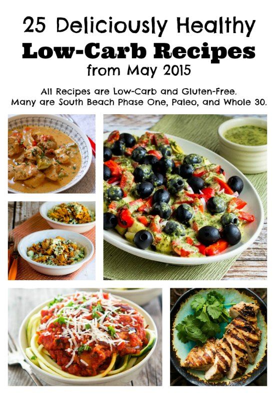 May 2015 Recipes >> 25 Deliciously Healthy Low Carb Recipes From May 2015 Healthy Low