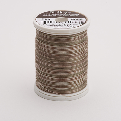 Sulky 30 Wt. Cotton Blendables Thread - Earth Taupes - 500 yd. Spool