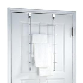 Organize It All Organize It All Chrome Over The Door Towel Rack 1762w 1 Towel Rack Over Door Towel Rack