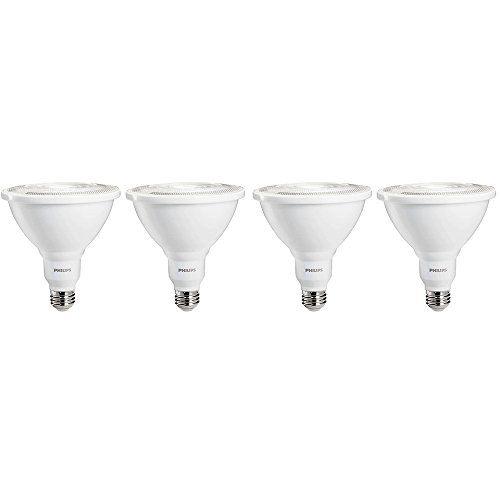 Philips Led Indooroutdoor Flood Bulb 4 Pack 100 Watt Equivalent Daylight 5000k Par38 Dimmable M Dining Room Lighting Outdoor Flood Lights Philips Led