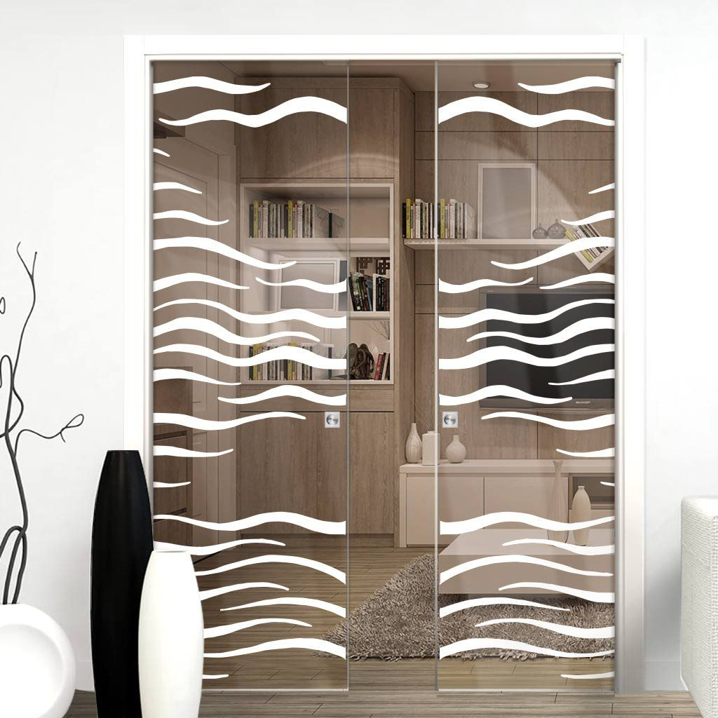 Eclisse 10mm alga sandblasted design on clear or satin glass eclisse 10mm alga sandblasted design on clear or satin glass double pocket door planetlyrics Image collections