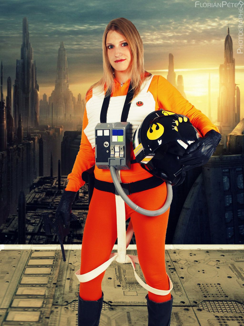 X Wing Pilot Cosplay Costumes Fashion Winter Jackets