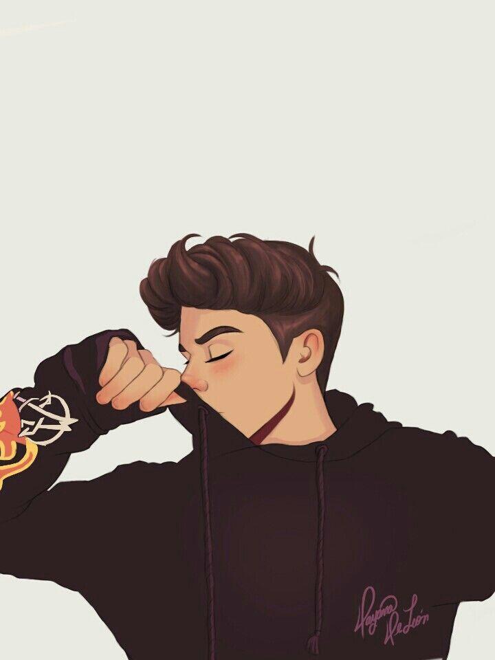 Javier Collazo By Jayde Bissonnette Th Instagram Draw Guy Ilustration In 2020 Cartoon Art Styles Cartoon Art Anime Drawings Boy
