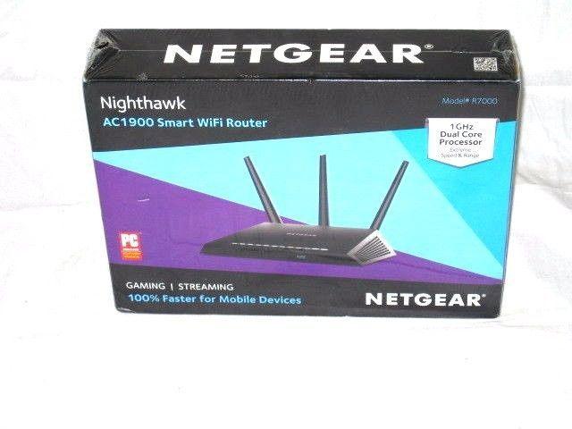 Netgear Nighthawk AC1900 Smart WiFi Router-1 GHZ Dual Core-R7000 ...