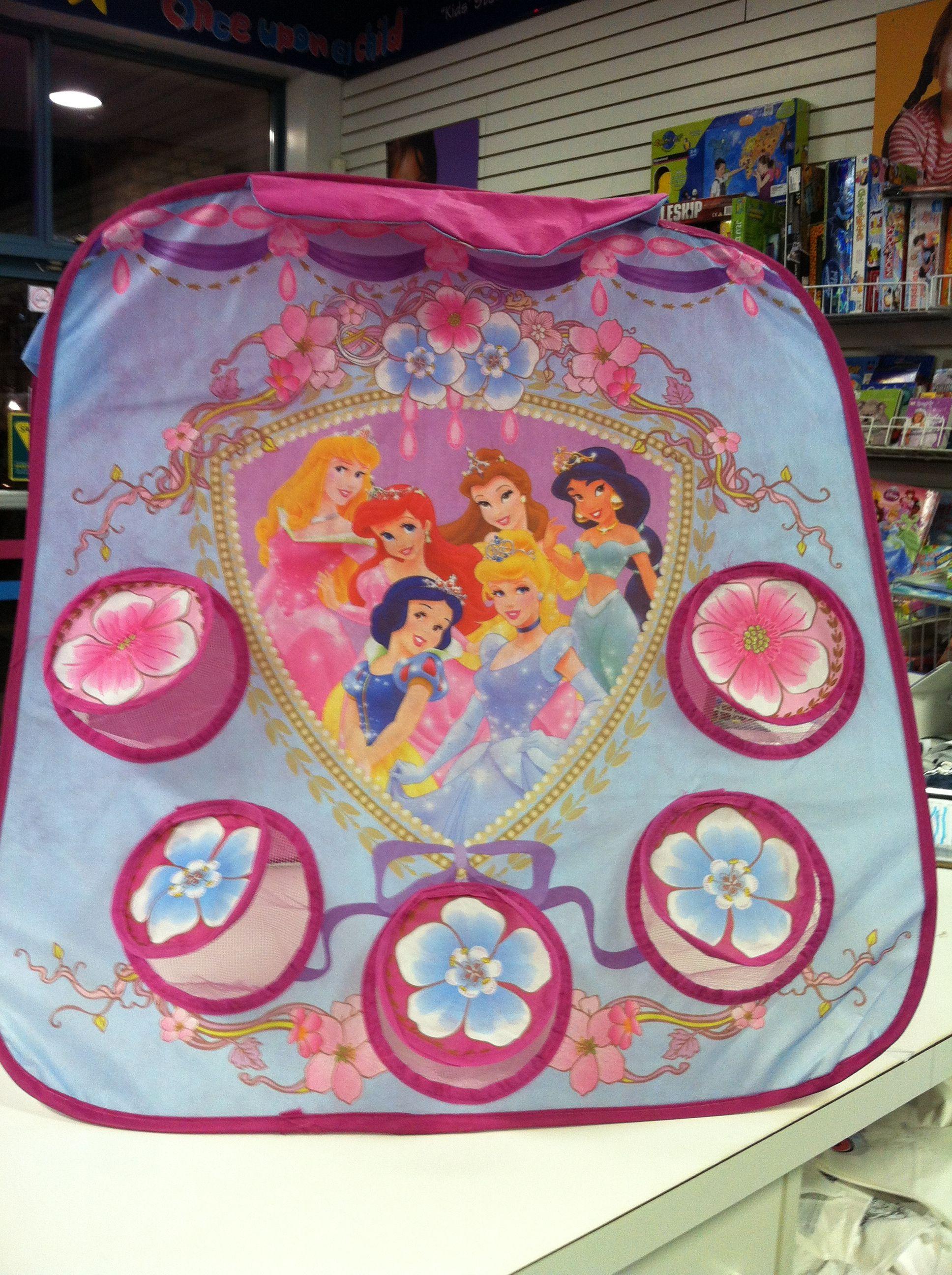 Disney Princess Pop Bean Bag Toss Game 6.50 Great