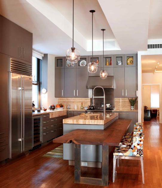 Little Wrap Around Breakfast Bar Modern Kitchen Design