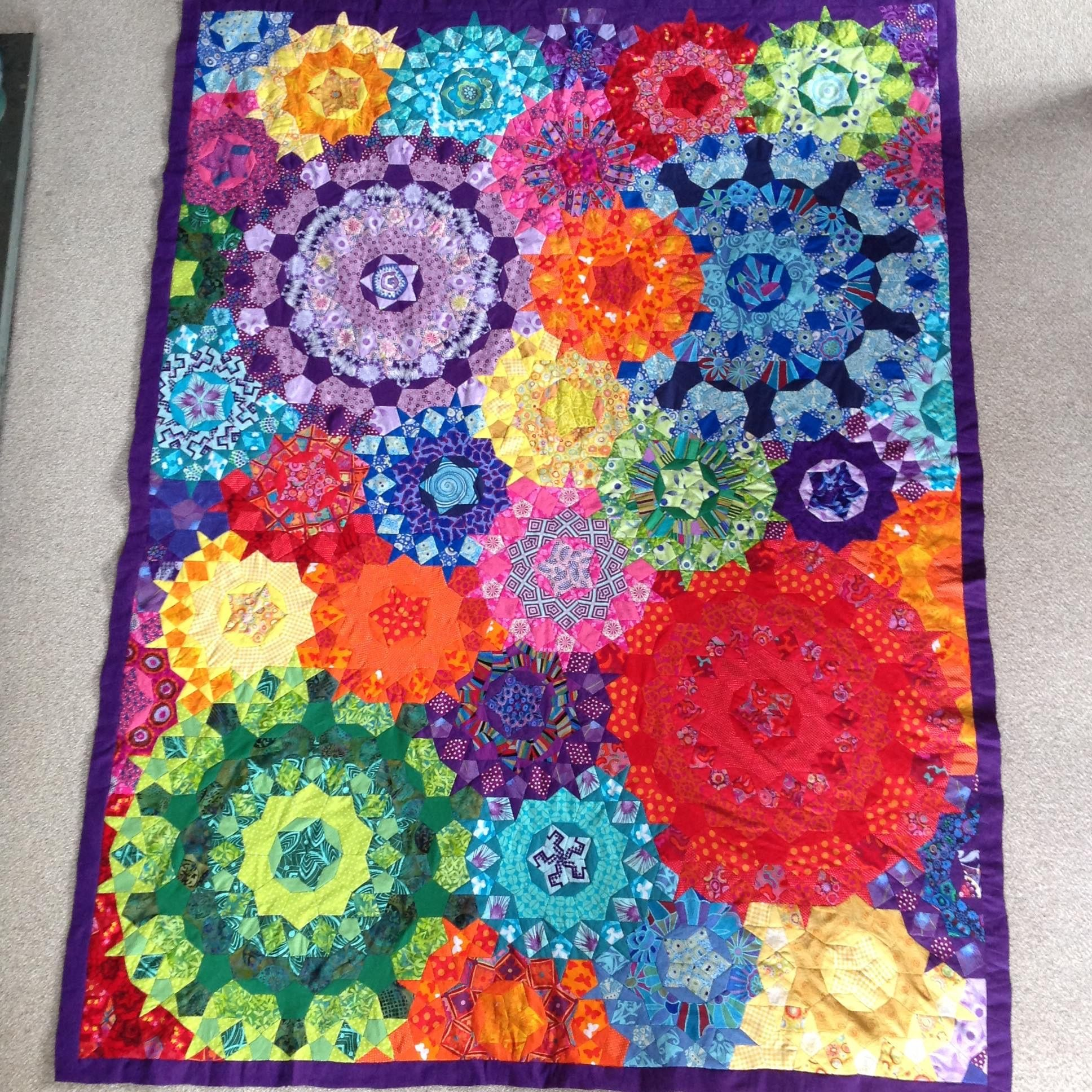 La Passacaglia | Quilts... millefiori | Pinterest