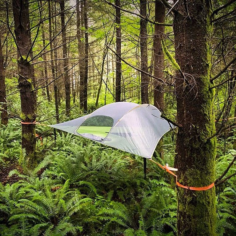 The Tentsile Stingray is a 3 person tree tent (a.k.a. portable treehouse) that offers & The Tentsile Stingray is a 3 person tree tent (a.k.a. portable ...