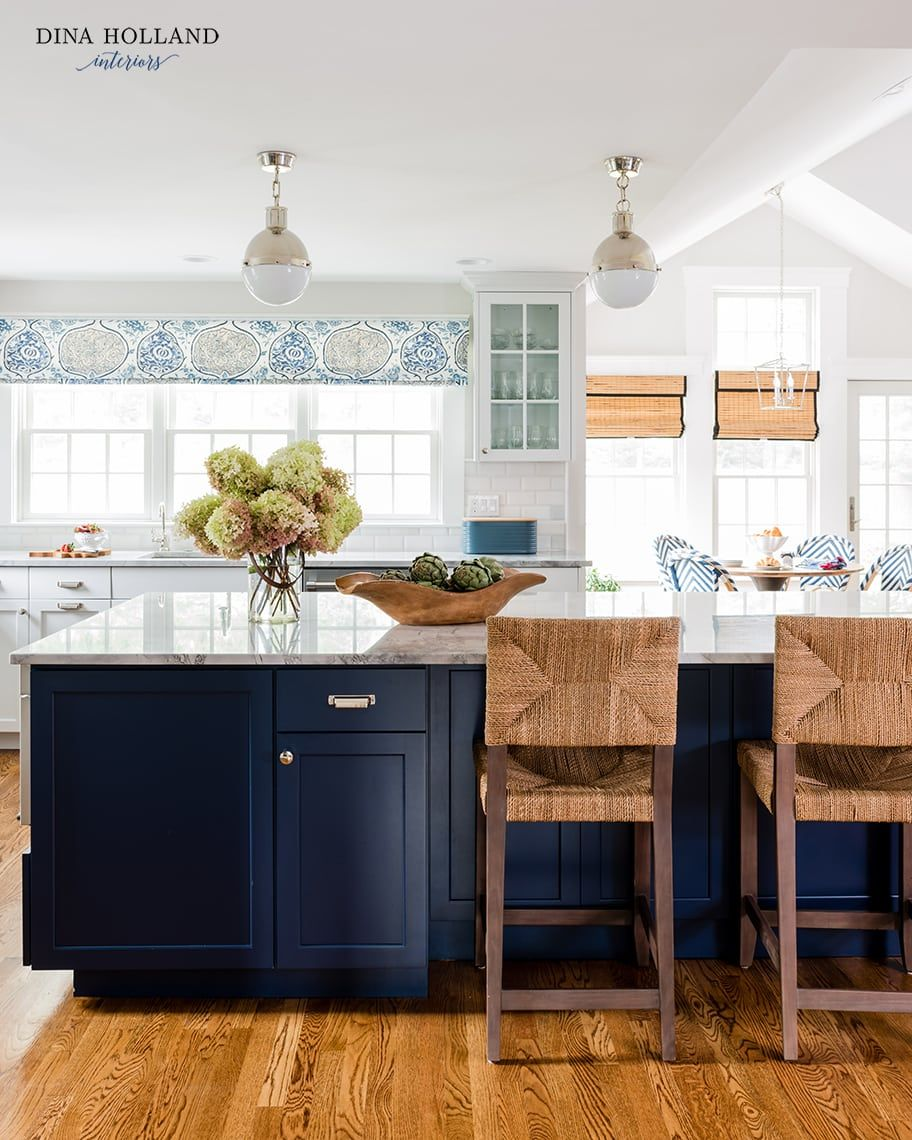 Sherwin Williams Naval Navy Blue Paint Color Of The Year Diy Decor Mom Blue Kitchen Island Navy Blue Paint Colors Blue Paint Colors