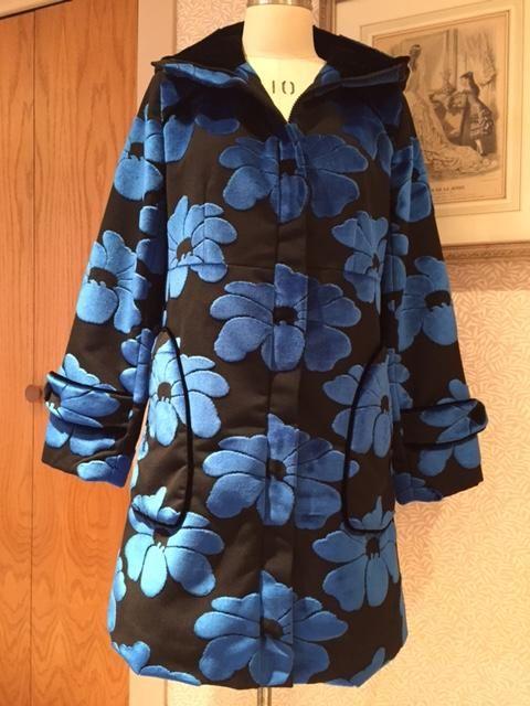 Pepernoot Coat Sew Along: Finishing Details | Waffle Patterns ...