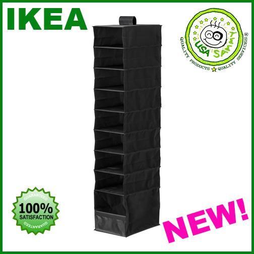 IKEA Closet Storage   Ikea Hanging Closet Organizer Clothes Shoes Storage  NEW   EBay