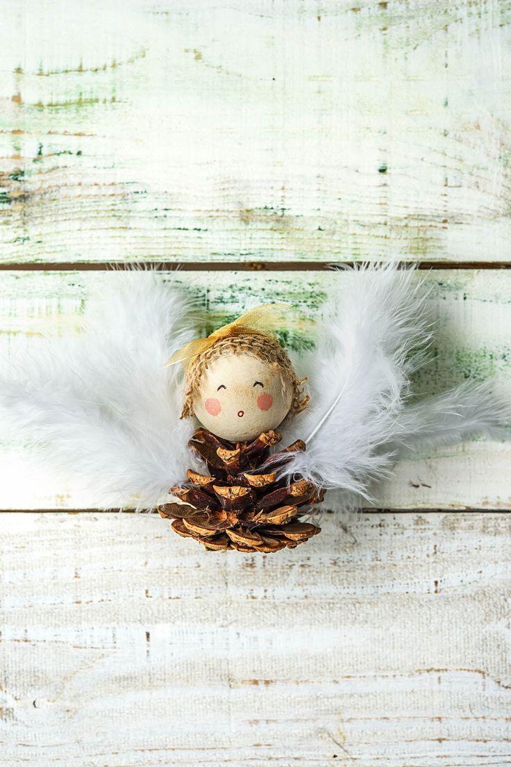 3 Dinge, die Du aus Tannenzapfen basteln kannst #weihnachtsbastelnnaturmaterialien