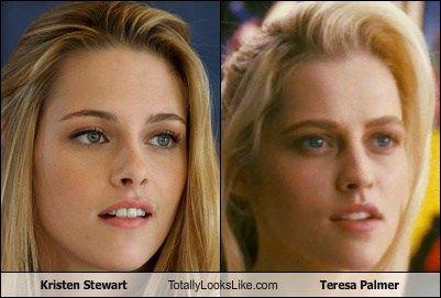 Kristen Stewart Totally Looks Like Teresa Palmer Celebrity Look Alike Famous Celebrities Teresa Palmer