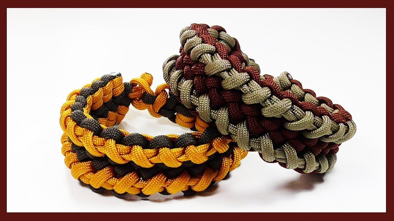 Paracord Bracelet How To Tie The Cloven Zipper Without Buckle
