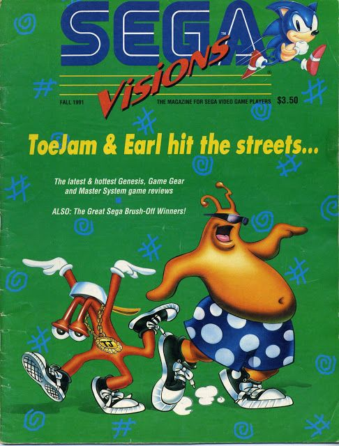 Sega Visions – Issue Number 6 – Fall 1991