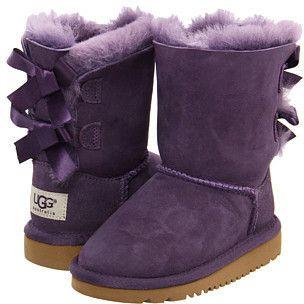 Baby Booties Boots Ugg inspired Purple