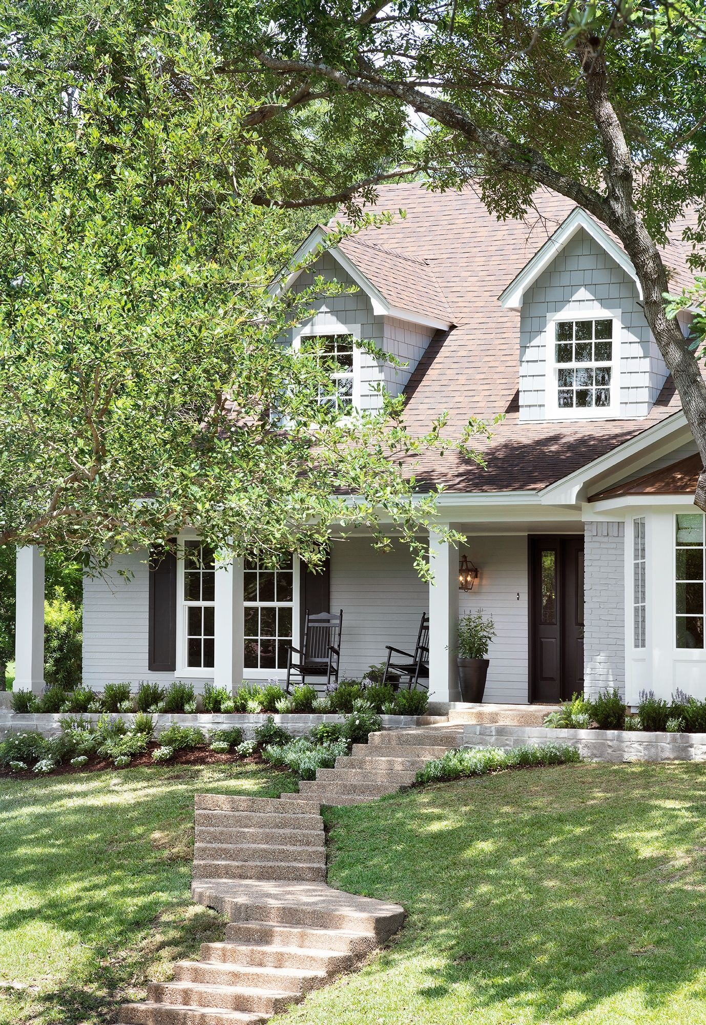 Bay window design exterior  we installed a copper roof and trimmed out the bay window to add a