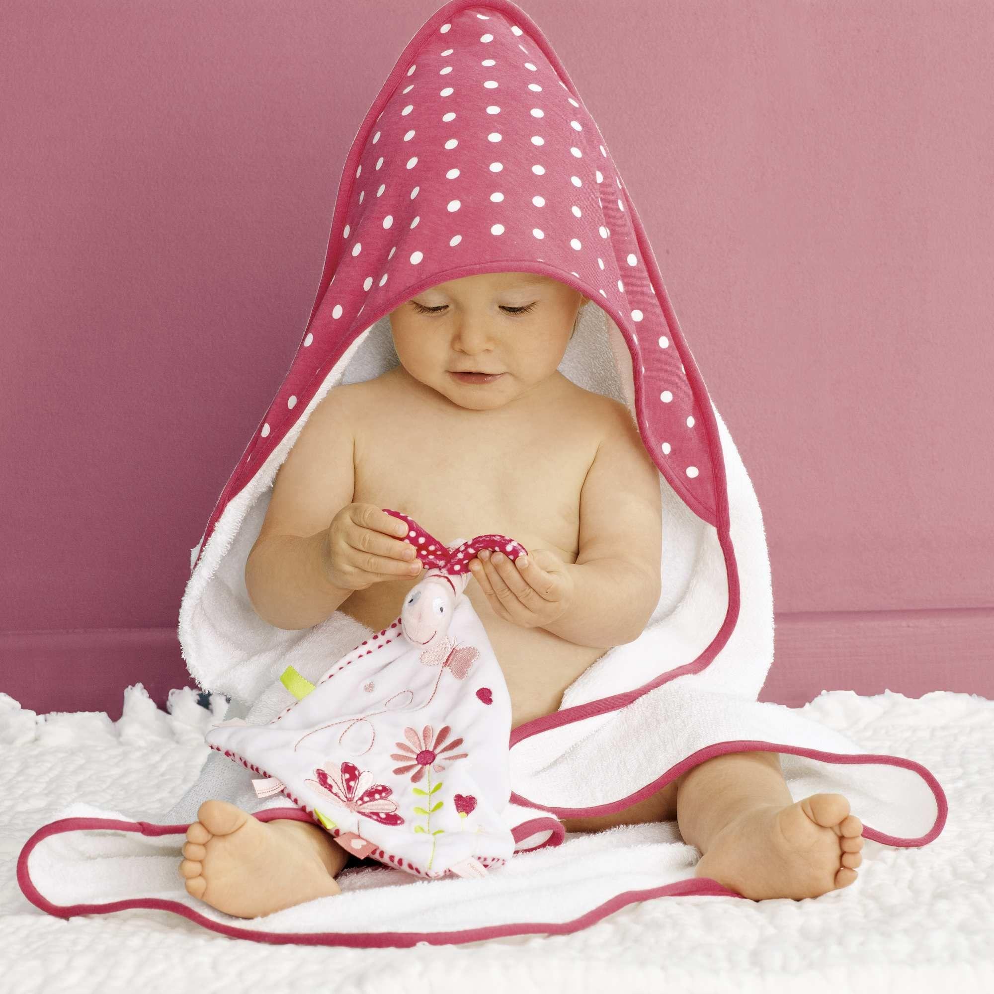 Articulos de bebe capa de bano de fantasia rosa intenso bebe nina er453 2 zc1 beb s baby - Articulos para bano ...
