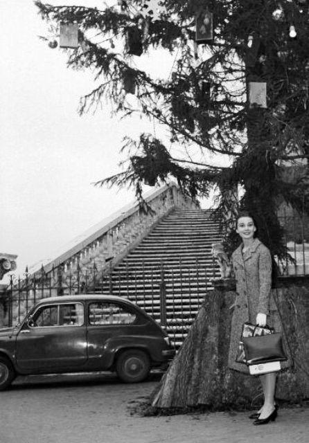 Audrey em Roma, 1959