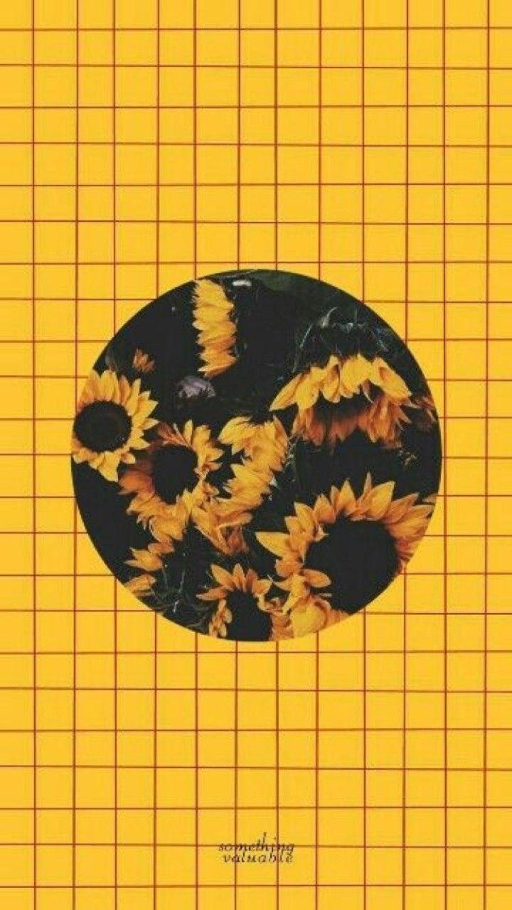Wallpaper iphone cute hd-535 #yellowaesthetic