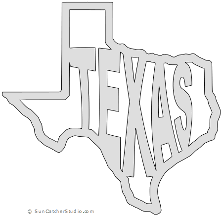 State Of Texas Map Outline.Texas Map Outline Printable State Shape Stencil Pattern To