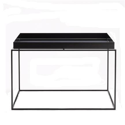 Tray Coffee Table Black Illums Bolighus Skandinavisk Mobler Stue