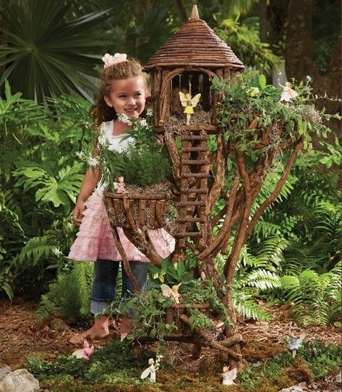 fairy garden ideas fairy house tree branches garden decor mini