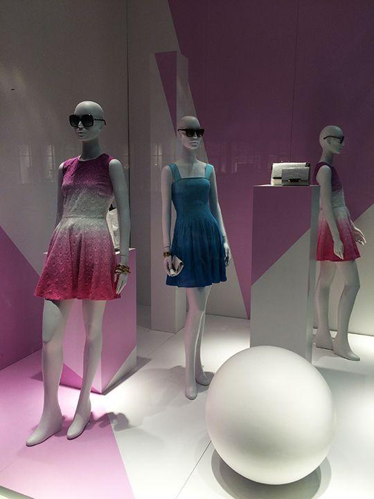 """DIANE VON FURSTENBERG, Meatpacking District,Manhattan, New York, """"Pink Touches Purple"""", photo by Mizhattan,pinned by Ton van der Veer"""