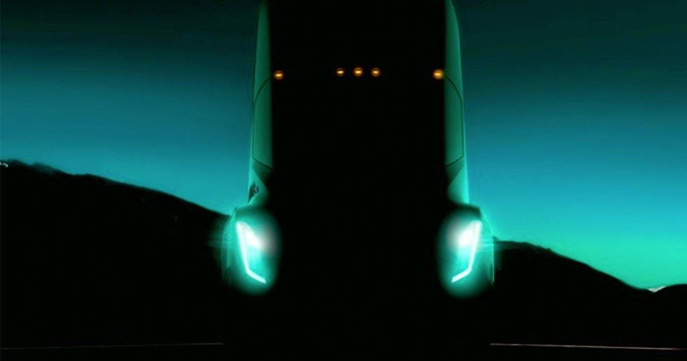 Is Elon Musk Planning A Surprise For The Tesla Semi Unveiling? #Electric_Vehicles #Elon_Musk