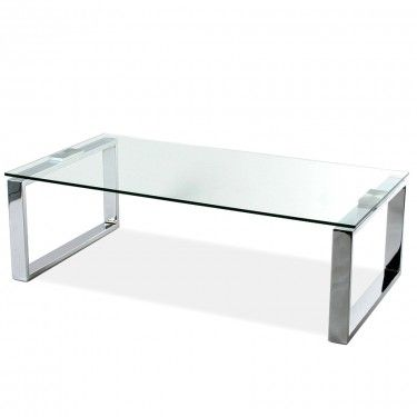 Melrose Coffee Table Matte White Modern Coffee Tables