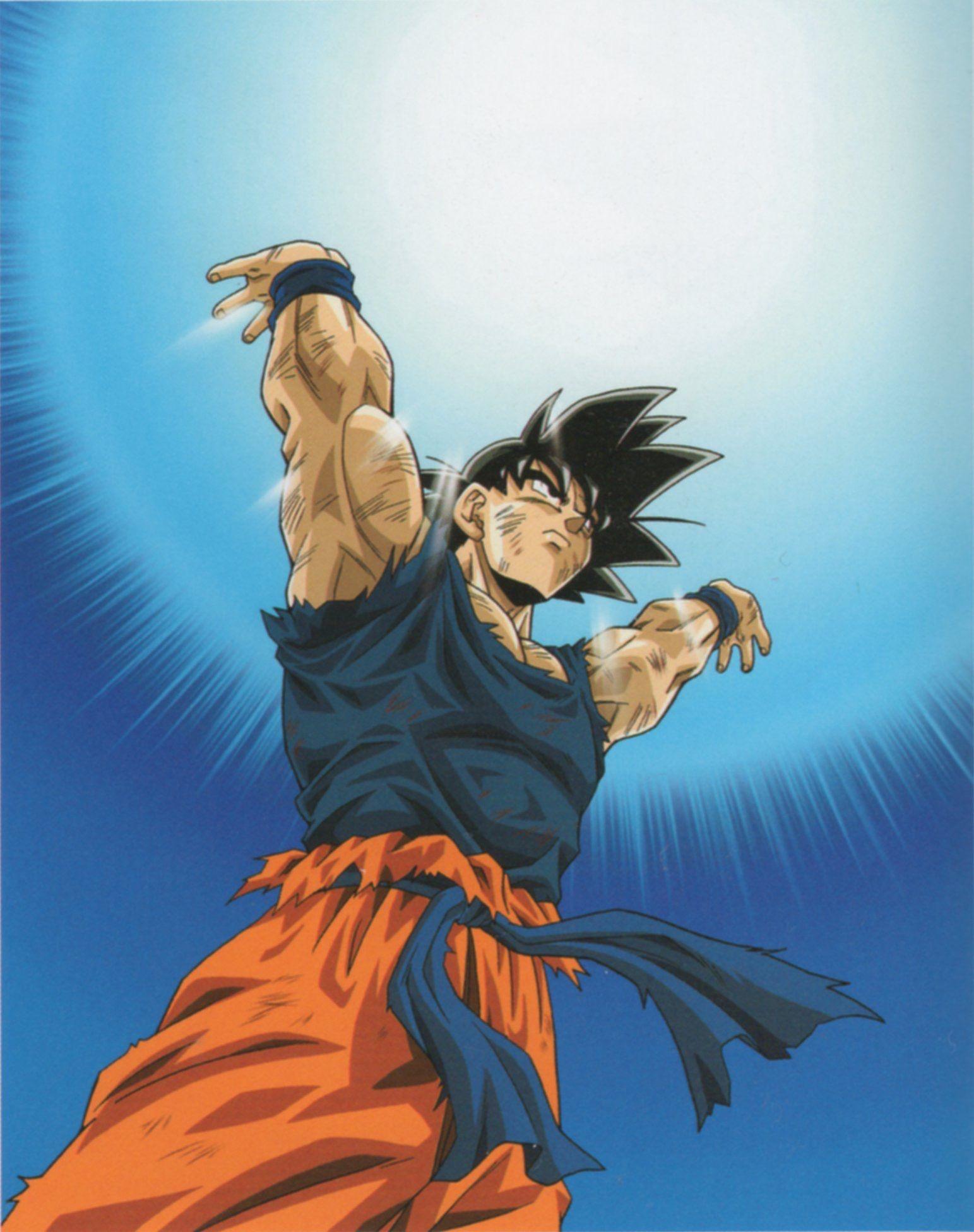 Goku Genkidama Dragonball Z Gt Kai Heroessuper