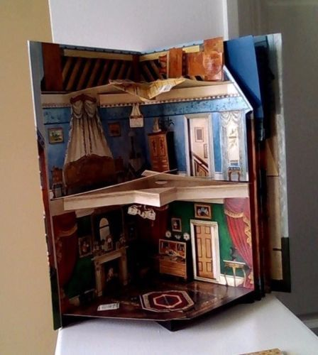 Details About Victorian House Book, Keith Moselley, Pop Up
