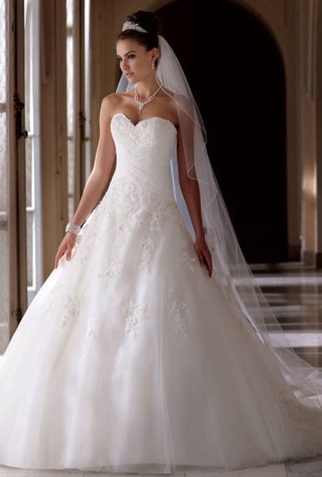 Resultado de imagem para vestidos de casamento de princesas 2018