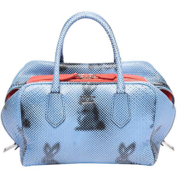 2a43b949b839 Prada Resort 2016 Bag Collection ❤ liked on Polyvore featuring bags,  handbags, prada, blue handbags, blue purse, prada purses and prada bags