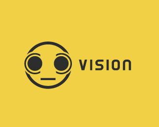 Vision Logo design - Minimal and creative logo with strong corporate feeling.