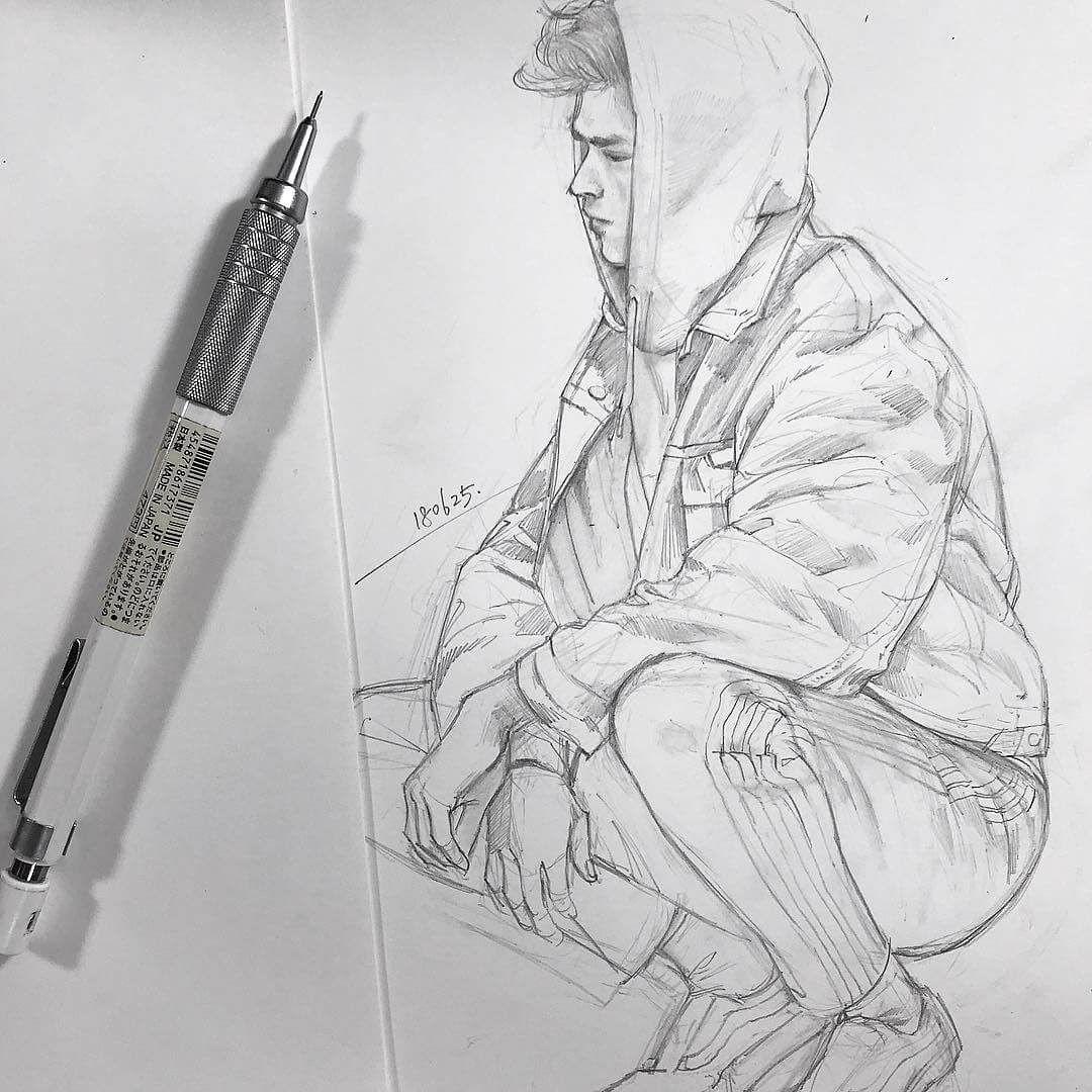 Pen and Pencil Portrait Sketches #artanddrawing