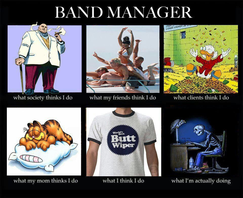 band manager artist management jobs - Artist Management Jobs