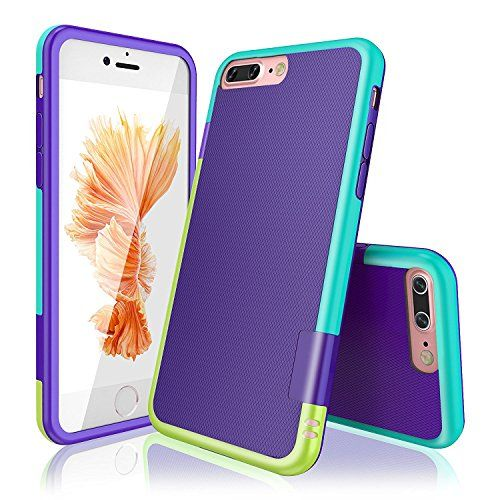 2073d9abee8 Funda iPhone 8 Plus Funda iPhone 7 HanLuckyStars TPU Funda Carcasa para  iPhone 7 Plus/