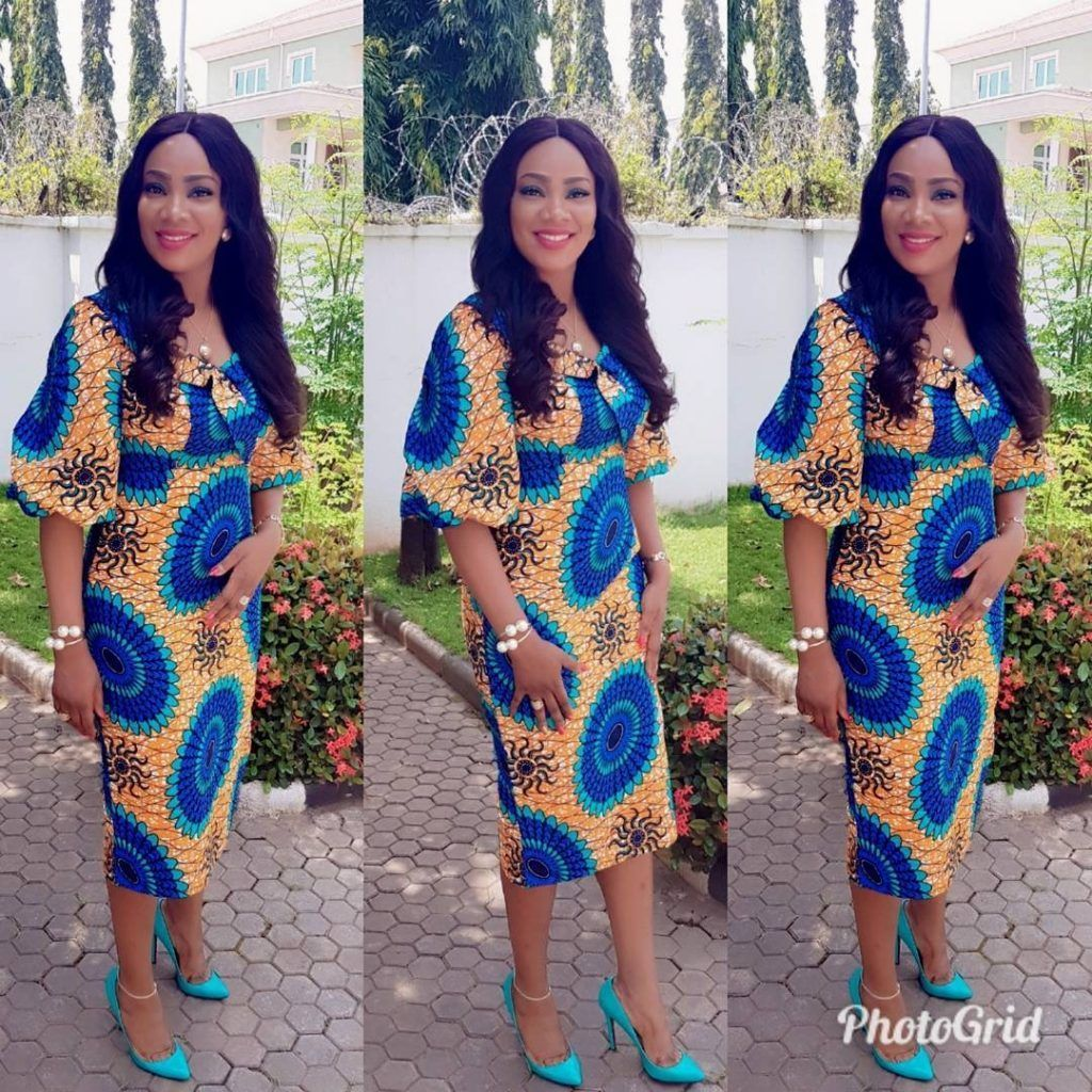 Every african women like to be seen in the latest ankara styles we